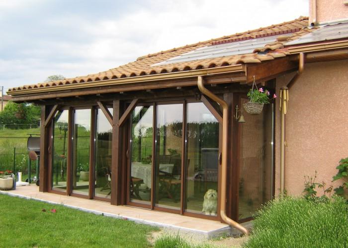 Brm aluminium agrandissement du toit for Agrandissement maison bourgoin jallieu